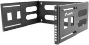 lanberg 19 4u 497x400 240 folding bracket wall mount black photo