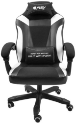 fury nff 1710 avenger m gaming chair black white