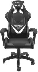 fury nff 1711 avenger l gaming chair black white photo