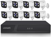 LOOSAFE POE NVR KIT H.265 + 8 CAMERAS 5MP