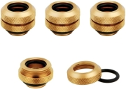 corsair hydro x fitting hard xf straight gold 4 pack 12mm od compression photo