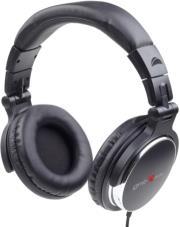 gembird mhp yul bk dj headphones montreal black photo