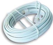 cablexpert tc6p2c 2m telephone cord 6p2c 2m photo