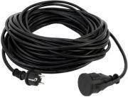 rev proektasi power plug ip44 25m black photo