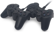 GEMBIRD JPD-UDV2-01 DOUBLE USB DUAL VIBRATION GAMEPAD