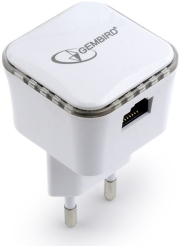 gembird wnp rp300 01 wifi repeater 300 mbps white photo