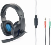 gembird ghs 04 gaming headset with volume control matte black photo