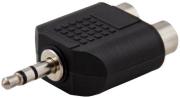 savio cls 19 mini jack 35mm  2xrca audio adapter photo