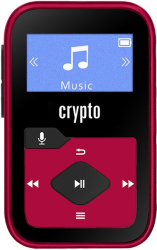 crypto mp330 plus mp3 player 32gb red photo