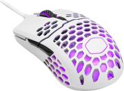 coolermaster mm711 16000dpi rgb light gaming mouse matte white photo