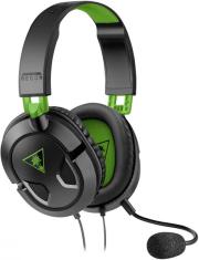 turtle beach recon 50x black green gaming headset tbs 2303 02 photo