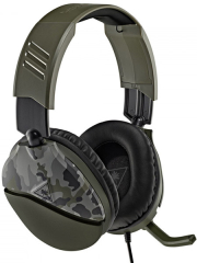 turtle beach recon 70 camo green over ear stereo gaming headset tbs 6455 02 photo