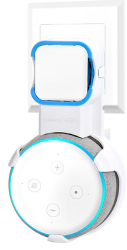 terratec 324192 hold me echo wall mount for amazon echo dot 3rd generation photo