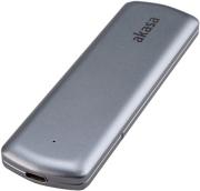 akasa portable m2 sata nvme ssd to usb 32 gen 2 aluminium enclosure photo