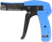 delock 86177 cable tie installation tool blue black photo