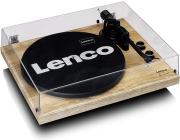 lenco lbt 188pi wood turntable with bt mmc pine photo
