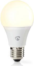nedis wifilw12wte27 wi fi smart led bulb e27 a60 9w 800lm photo
