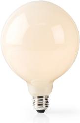 nedis wifilf11wtg125 wi fi smart led bulb warm white e27 g125 5w 500lm photo