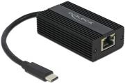 delock 65990 adapter usb type c male to 25 gigabit lan photo