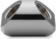 ek water blocks ek quantum torque adapter ff 90 g1 4 black nickel photo