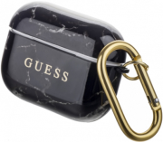 guess cover marble for apple airpods pro black guacaptpumabk photo