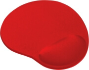 trust 20429 gel mouse pad red photo