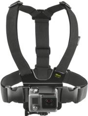 trust 20891 chest mount harness for action cameras photo