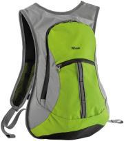 trust 20887 zanus weatherproof sports backpack lime green photo