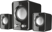 trust 21525 ziva compact 21 speaker set black photo