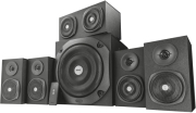 trust 22236 vigor 51 surround speaker system for pc black photo