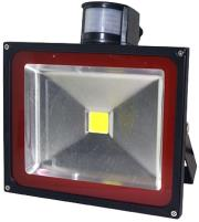 v tac vt 4050pir 50w led floodlight with sensor premium cold white photo