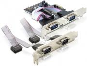 delock tr89178 pci express card to 4x serial photo