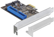 delock 89293 pci express card 2x internal sata 6 gb s 1 x internal ide photo