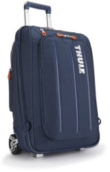thule tcru 115 crossover carry on 38l luggage suitcase blue photo