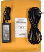 polycom eu power supply for soundpoint ip 321 331 335 450 photo