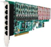 openvox ae2410p60 24 port analog pci card 6 fxs400 modules photo