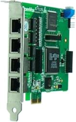openvox d410e 4 port e1 t1 j1 pri pci e card photo