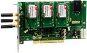 openvox g410p3 3 port gsm wcdma pci card with 3x 3g wcdma modules photo