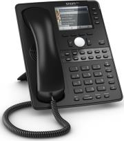 snom d765 professional business ip phone black photo