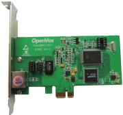 openvox b100e 1 port isdn bri pcie card asterisk ready photo