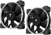 corsair air series sp120 quiet edition high static pressure 120mm fan twin pack photo