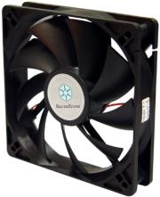 silverstone fn121 120mm fan black photo