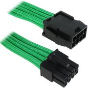 bitfenix 8 pin eps12v extension 45cm sleeved green black photo