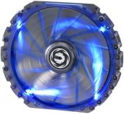 bitfenix spectre pro 230mm fan bluee led black photo