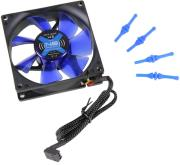 noiseblocker blacksilent fan x2 80mm photo