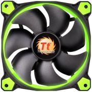 thermaltake riing led green 120mm photo