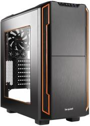 case be quiet silent base 600 orange with window photo