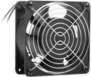 lanberg fan for 19 wall mounting lanberg cabinet 230v 120x120x38mm black photo