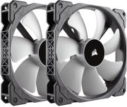 corsair ml140 140mm premium magnetic levitation fan twin pack photo