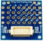 tinyshield proto board with top connector photo